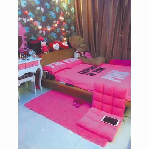 Thảm lông xù mềm mịn màu hồng sen trải chân giường 0.8*1.6m - 8845383 , 17997900 , 15_17997900 , 150000 , Tham-long-xu-mem-min-mau-hong-sen-trai-chan-giuong-0.81.6m-15_17997900 , sendo.vn , Thảm lông xù mềm mịn màu hồng sen trải chân giường 0.8*1.6m