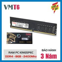Ram máy tính Kingspec DDR4 8G 2400MHz - Bảo hành chính hãng 36 tháng! - DDR4 8G 2400MHz