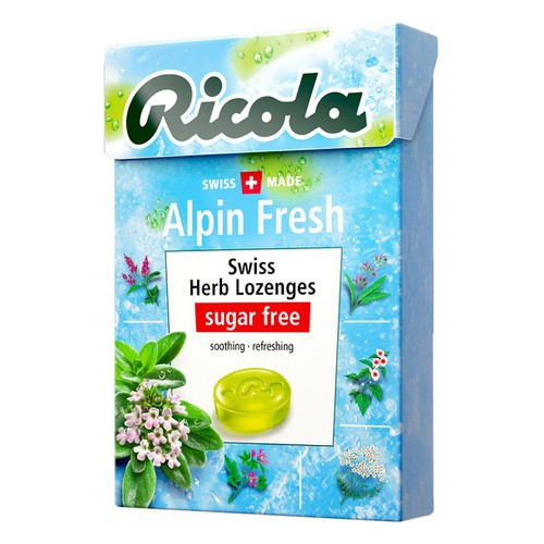 Kẹo thảo mộc Ricola Alpin Fresh 40g