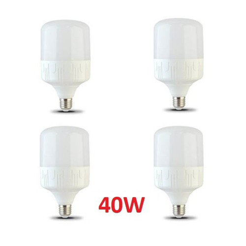 Bộ 4 Bóng Đèn LED 40W E27