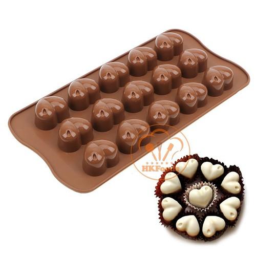 Khuôn silicon làm các loại thạch, bánh pudding, socola, mousse mẫu 15 trái tim - 8862747 , 18016109 , 15_18016109 , 25000 , Khuon-silicon-lam-cac-loai-thach-banh-pudding-socola-mousse-mau-15-trai-tim-15_18016109 , sendo.vn , Khuôn silicon làm các loại thạch, bánh pudding, socola, mousse mẫu 15 trái tim