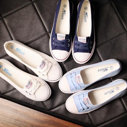 Giày Lười Vải Nữ