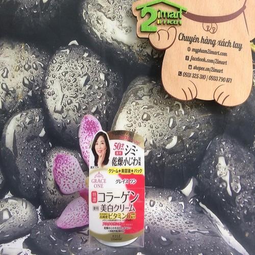 Kem Dưỡng Trắng Da Ngăn Ngừa Lão Hóa Kosé Grace One Phụ Nữ Trên 40 100g Japan