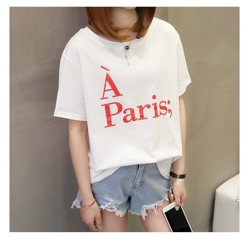 Áo thun À Paris cotton