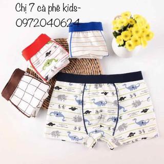 quần lót bé trai combo 10 quần- sịp dạng đùi- đủ size