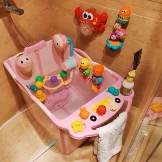 Bồn tắm cho bé sẵn hồng - HD886 thumbnail