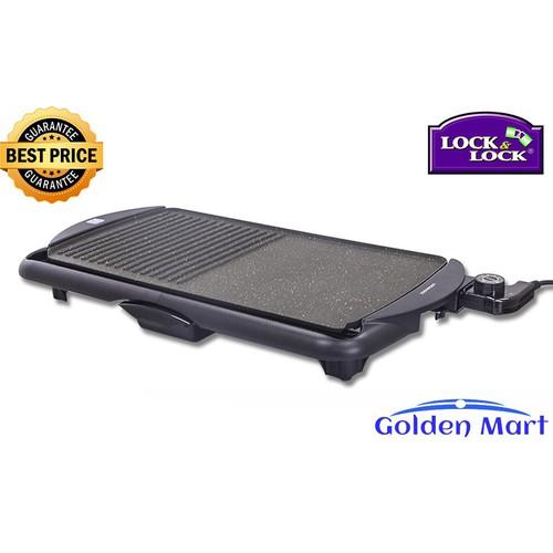 Bếp vỉ nướng điện Lock&Lock Electric Grill EJG231 - Thiết kế hiện đại - Khả năng trống dính tốt - Công suất 2000W giúp bạn nướng thực phẩm trong tích tắc. - 4777169 , 18008820 , 15_18008820 , 1250000 , Bep-vi-nuong-dien-LockLock-Electric-Grill-EJG231-Thiet-ke-hien-dai-Kha-nang-trong-dinh-tot-Cong-suat-2000W-giup-ban-nuong-thuc-pham-trong-tich-tac.-15_18008820 , sendo.vn , Bếp vỉ nướng điện Lock&Lock Elec
