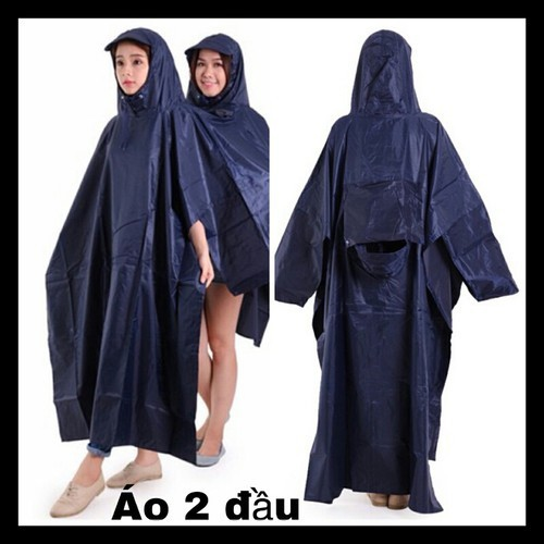 áo mưa 2 đầu loại dày