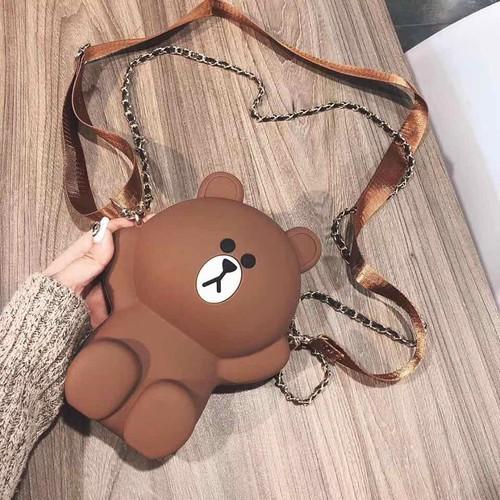 Túi gấu brown loại chuẩn 2 dây