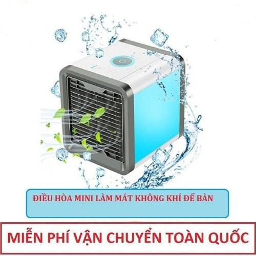 Máy điều hòa mini - quạt điều hòa mini làm mát không khí bằng hơi nước - quạt điều hòa không khí mini siêu mát mới 2019