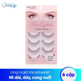 Lông mi giả Vacosi Love Eyelash 6 cặp - MP00208BS.01