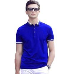 Áo Thun Có Cổ Nam Cao Cấp, Chất Vải Cotton, From chuẩn đẹp-Cho phép xem hàng