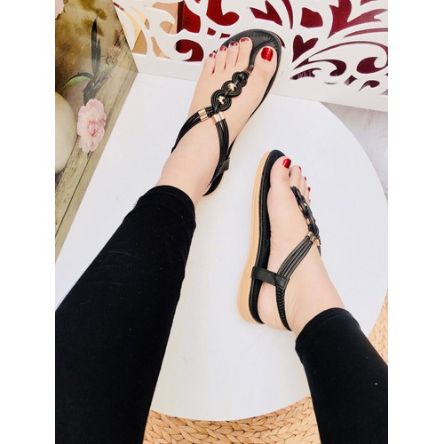 Giày sandal kẹp lót