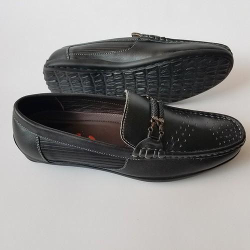 Giày lười giày mọi nam da bò cao cấp thời trang - jz1480