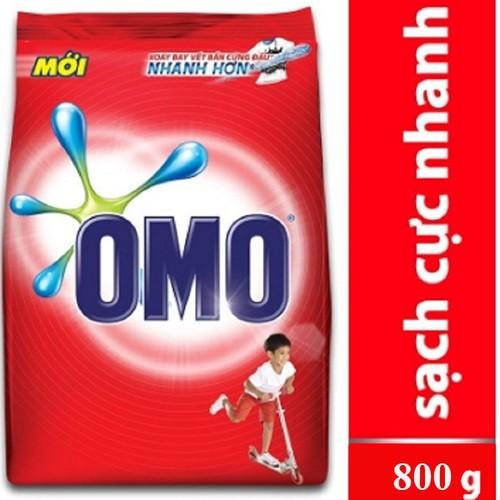 Bột giặt omo sạch cực nhanh dạng túi đỏ 800g - 17137760 , 18903238 , 15_18903238 , 35000 , Bot-giat-omo-sach-cuc-nhanh-dang-tui-do-800g-15_18903238 , sendo.vn , Bột giặt omo sạch cực nhanh dạng túi đỏ 800g