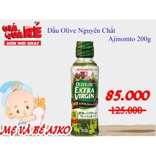 Dầu oliu nguyên chất Extra Virgin AJINOMOTO 200ml Nhật Bản - 4988013 thumbnail