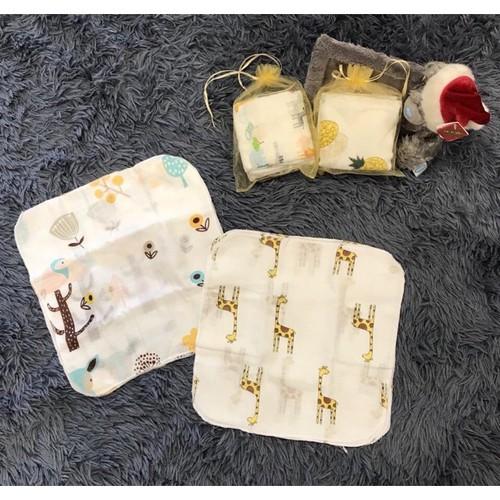 Sét 10 Khăn xô sữa Aden  Anais cho bé trai bé gái Dạng Túi SP000221