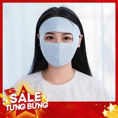 Khẩu Trang Kín Mặt Ninja Chống Tia UV Siêu Hot kín mặt