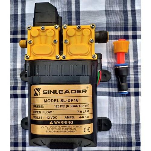 Bơm áp lực mini 12v bơm đôi SINLEADER, Bơm cao áp mini 12v cực mạnh