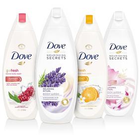 Combo 2 chai Sữa tắm DOVE Nhập khẩu từ ĐỨC chai 500ml - 2 SỮA TẮM DOVE