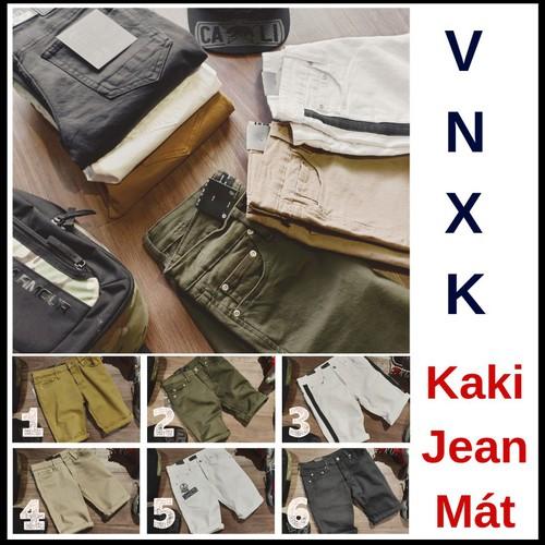 Quần Short Nam Kaki Mềm Mịn Hàng Hiệu Xuất Khẩu 6 Màu Trẻ Trung Phong Cách Hàn Quốc