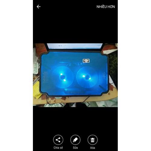 Đế tản nhiệt N99 - đế làm mát laptop hàng cao cấp có đèn led - 11758680 , 19098496 , 15_19098496 , 99000 , De-tan-nhiet-N99-de-lam-mat-laptop-hang-cao-cap-co-den-led-15_19098496 , sendo.vn , Đế tản nhiệt N99 - đế làm mát laptop hàng cao cấp có đèn led