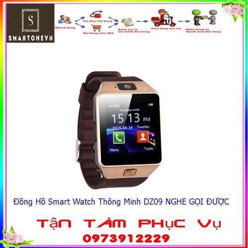 Đồng Hồ Smart Watch Thông Minh dz09 NGHE GỌI ĐƯỢC NGHE GỌI ĐƯỢC