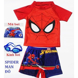 Quần áo bơi trẻ em kèm mũ và kính - Quần áo bơi kèm mũ và kính thumbnail
