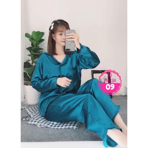 Đồ bộ pijama phi lụa viền bèo liti quần dài tay dài size dưới 60kg - 11752138 , 19085685 , 15_19085685 , 165000 , Do-bo-pijama-phi-lua-vien-beo-liti-quan-dai-tay-dai-size-duoi-60kg-15_19085685 , sendo.vn , Đồ bộ pijama phi lụa viền bèo liti quần dài tay dài size dưới 60kg
