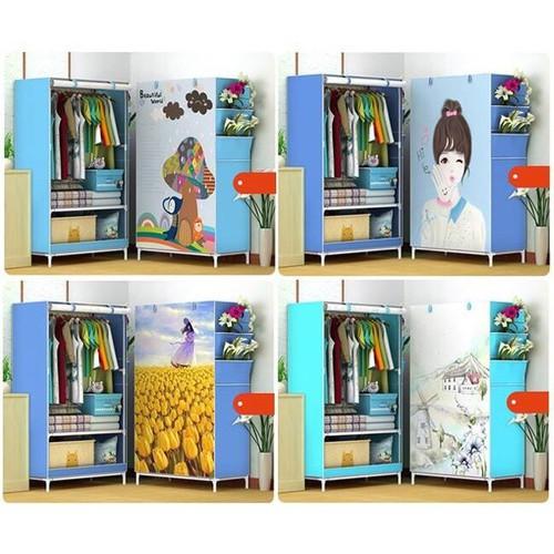 Tủ Vải 3D Kiểu 1 Buồng 2 Ngăn Khung Inox Chắc Chắn, Gọn Nhẹ, Tiện Lợi - Mẫu Mới - 11336277 , 19093951 , 15_19093951 , 194000 , Tu-Vai-3D-Kieu-1-Buong-2-Ngan-Khung-Inox-Chac-Chan-Gon-Nhe-Tien-Loi-Mau-Moi-15_19093951 , sendo.vn , Tủ Vải 3D Kiểu 1 Buồng 2 Ngăn Khung Inox Chắc Chắn, Gọn Nhẹ, Tiện Lợi - Mẫu Mới