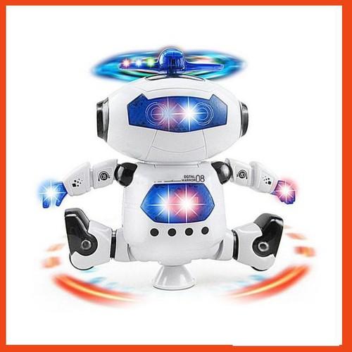Robot Thông Minh Xoay 360 Độ Dance Robot 3 3 3