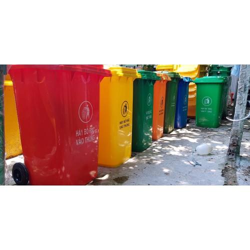 Thùng rác công nghiệp 240L đủ màu - 11750608 , 19083304 , 15_19083304 , 990000 , Thung-rac-cong-nghiep-240L-du-mau-15_19083304 , sendo.vn , Thùng rác công nghiệp 240L đủ màu
