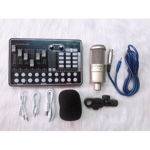 Bộ thu âm Livestream H9 và AQTA220