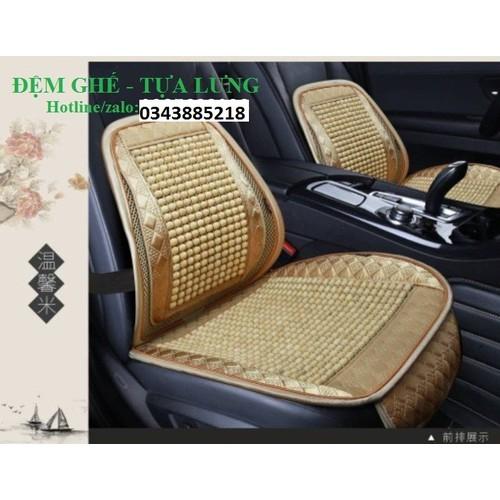 Tấm lót ghế ô tô hạt gỗ cao cấp - tựa lưng ghế ô tô chống mỏi cao cấp - 11758673 , 19098487 , 15_19098487 , 540000 , Tam-lot-ghe-o-to-hat-go-cao-cap-tua-lung-ghe-o-to-chong-moi-cao-cap-15_19098487 , sendo.vn , Tấm lót ghế ô tô hạt gỗ cao cấp - tựa lưng ghế ô tô chống mỏi cao cấp