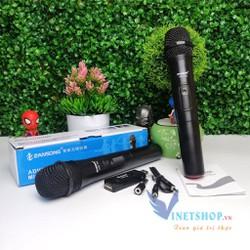 Micro Karaoke Không Dây Zansong V10 Đen Hỗ Trợ Các Thiết Bị Có Jack Cắm 3 5Mm Và 6 5Mm Dc2168