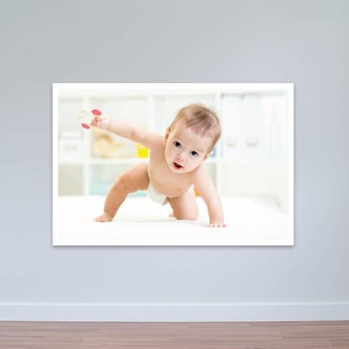 Tranh em bé đùa nghịch với đồ chơi | Tranh trẻ em W3084
