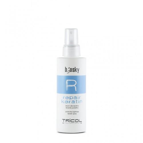 Hàng nhập khẩu của Ý Xịt dưỡng phục hồi, tái cấu trúc tóc Repair Keratin Spray 150ML BK0008