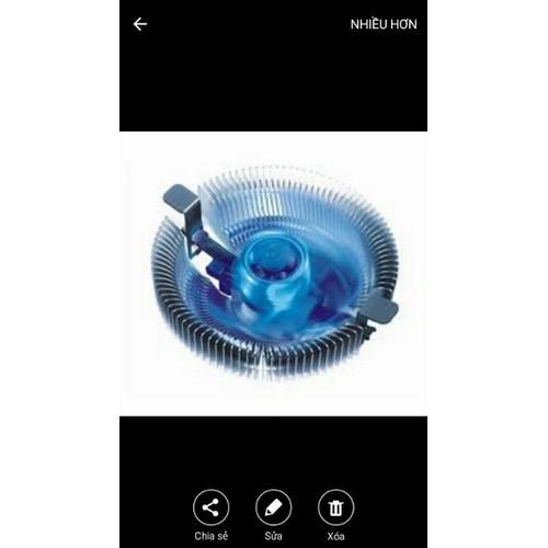 Fan AMD 775  - 1155 có led hàng cao cấp