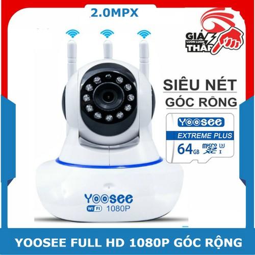 Camera yoosee full hd 1080p kèm thẻ nhớ yoosee plus 64g
