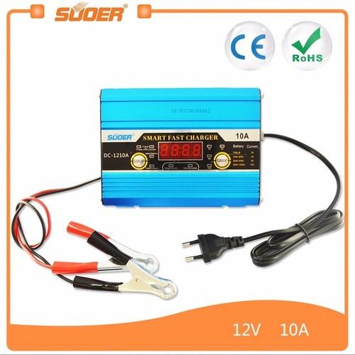 Bộ sạc bình ắc quy tự động 12V - 10A có màn hình LCD - 11425744 , 19116192 , 15_19116192 , 430000 , Bo-sac-binh-ac-quy-tu-dong-12V-10A-co-man-hinh-LCD-15_19116192 , sendo.vn , Bộ sạc bình ắc quy tự động 12V - 10A có màn hình LCD