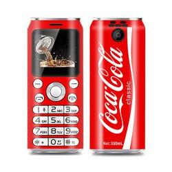 điện thoại độc lạ siêu nhỏ hình lon nước ngọt K8