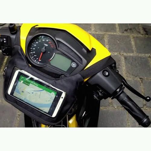 Túi treo vật dụng đầu xe máy cho dân công nghệ