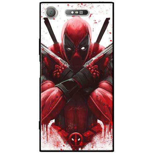 Ốp lưng nhựa dẻo Sony XZ1 Deadpool