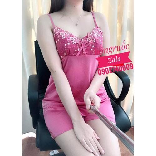 Đồ bộ-bộ ngủ thun lạnh size 65-72kg màu hồng ruốc