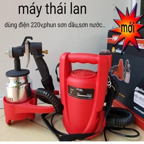 Máy phun sơn cầm tay Thái Lan Hikari - 11771255 , 19119408 , 15_19119408 , 910000 , May-phun-son-cam-tay-Thai-Lan-Hikari-15_19119408 , sendo.vn , Máy phun sơn cầm tay Thái Lan Hikari