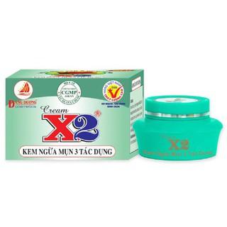 Kem X2 Ngừa Mụn 3 Tác Dụng 6g - X2MUN thumbnail