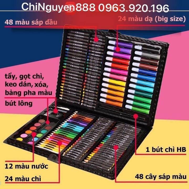 Bộ Bút Màu 150 Chi Tiết Giá rẻ nhất| 0987721020