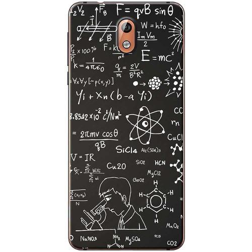 Ốp lưng nhựa dẻo Nokia 3.1 Bảng đen 1