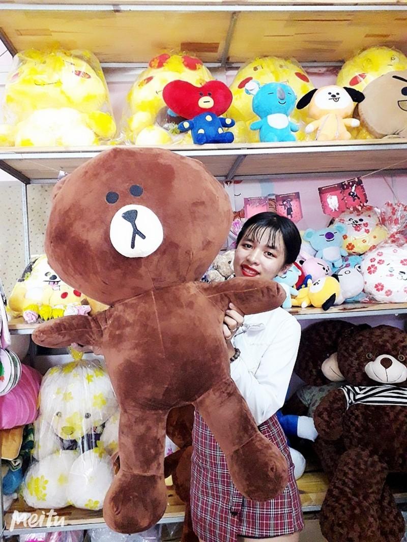 Gấu Bông Brown 1m 4