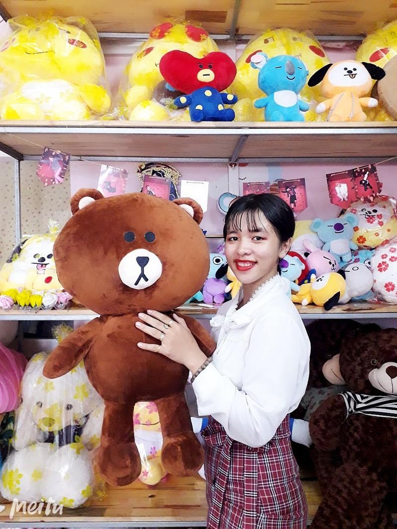 Gấu Bông Brown 70cm 3